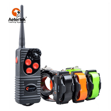 Aetertek AT-216D bark stop trainer with 3 receivers